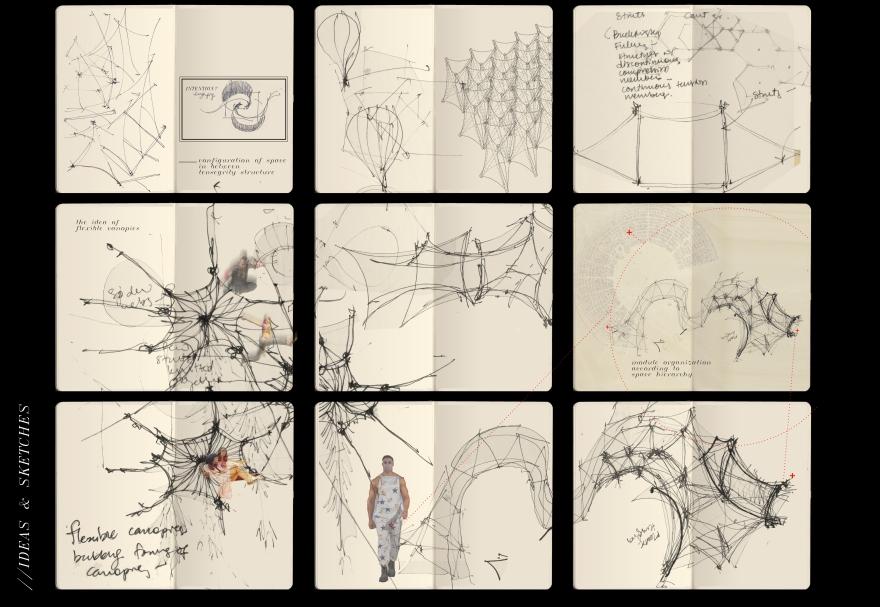 a3conceptual sketches